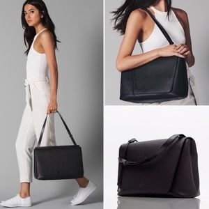 Dagne Dover Simone Satchel in Black